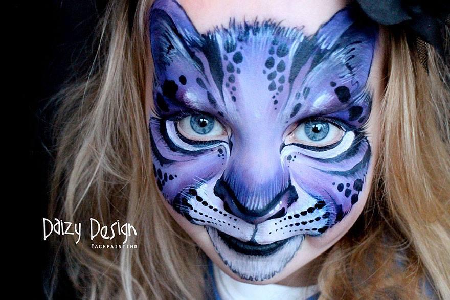 איפור-פנים-לפורים-חתול