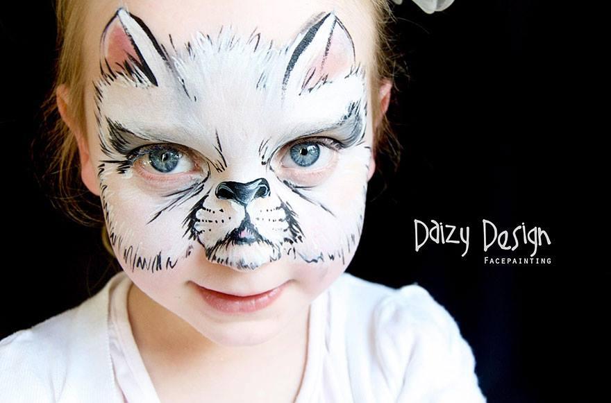 איפור-פנים-פורים-חתלתול-חתול